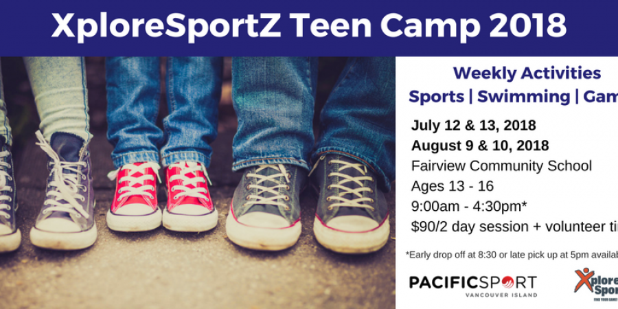 July & August Teen Camp 2018