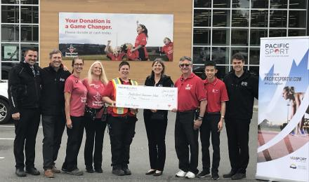 PacificSport Vancouver Island selected as Canadian Tire Jumpstart Grant Recipient